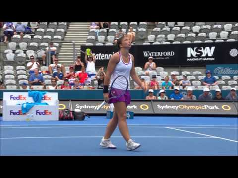 Jankovic v Errani highlights (2R) | APIA Sydney International 2017