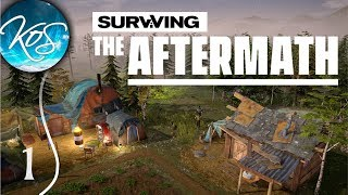 SURVIVING EARTH'S APOCALYPSE - Surviving the Aftermath Ep 1: (Post-Apocalyptic Colony Builder)