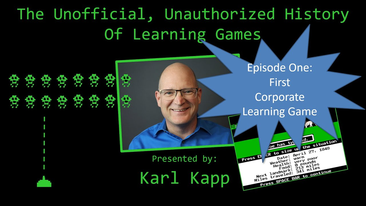 Why L&D Professionals Should Know the History of Learning Games: Part I