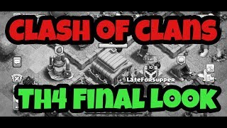 Clash of Clans - Final Look at Town Hall 4