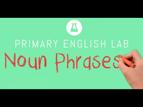 Animated Grammar Guides: Noun Phrases