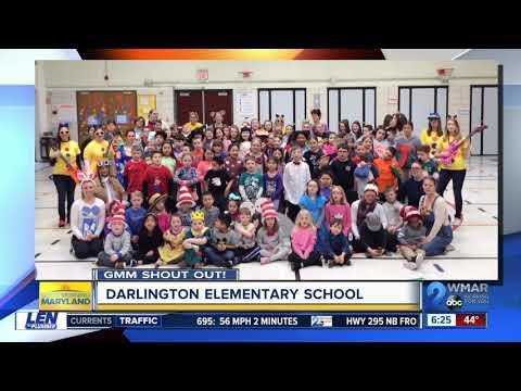 Good morning from Darlington Elementary School!