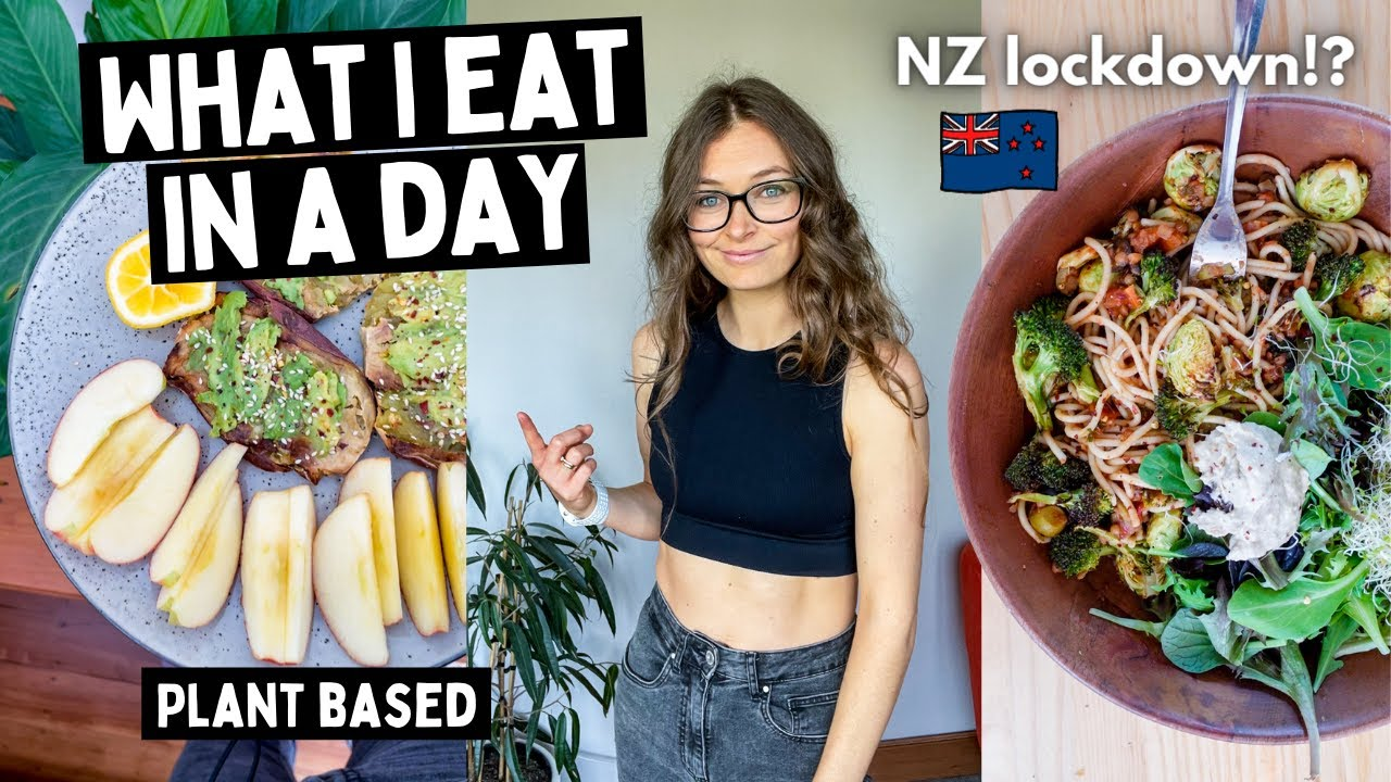 What I eat in a day for vegan weight loss//lockdown edition