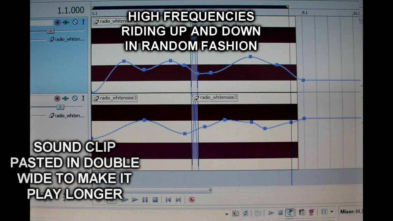 MAKING SOUND EFFECTS - Ocean Sound Effect (Hand Made) - by Linden Hudson
