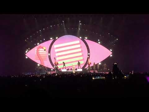 WITNESS THE TOUR Jakarta HD holdncold/lastfridaynight/californiagurl  140518