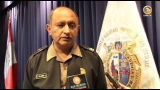 TALLER DE PREVENCIÓN Y TRÁFICO ILÍCITO DE DROGAS EN LA UNMSM