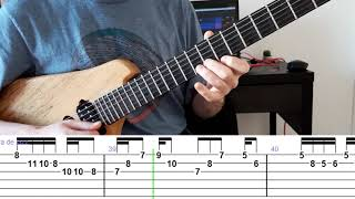 Pat Metheny, How Insensitive, Pat Metheny Solo, Guitar Solo With Tabs