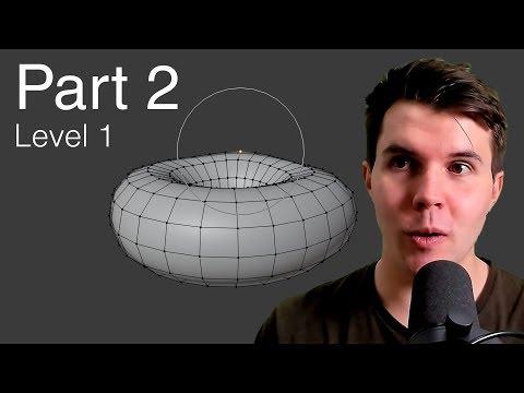part-2,-level-1:-modelling---beginner-blender-tutorial-series