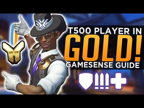 Overwatch: What I Learned as a T500 Player in Gold! - Gamesense Guide