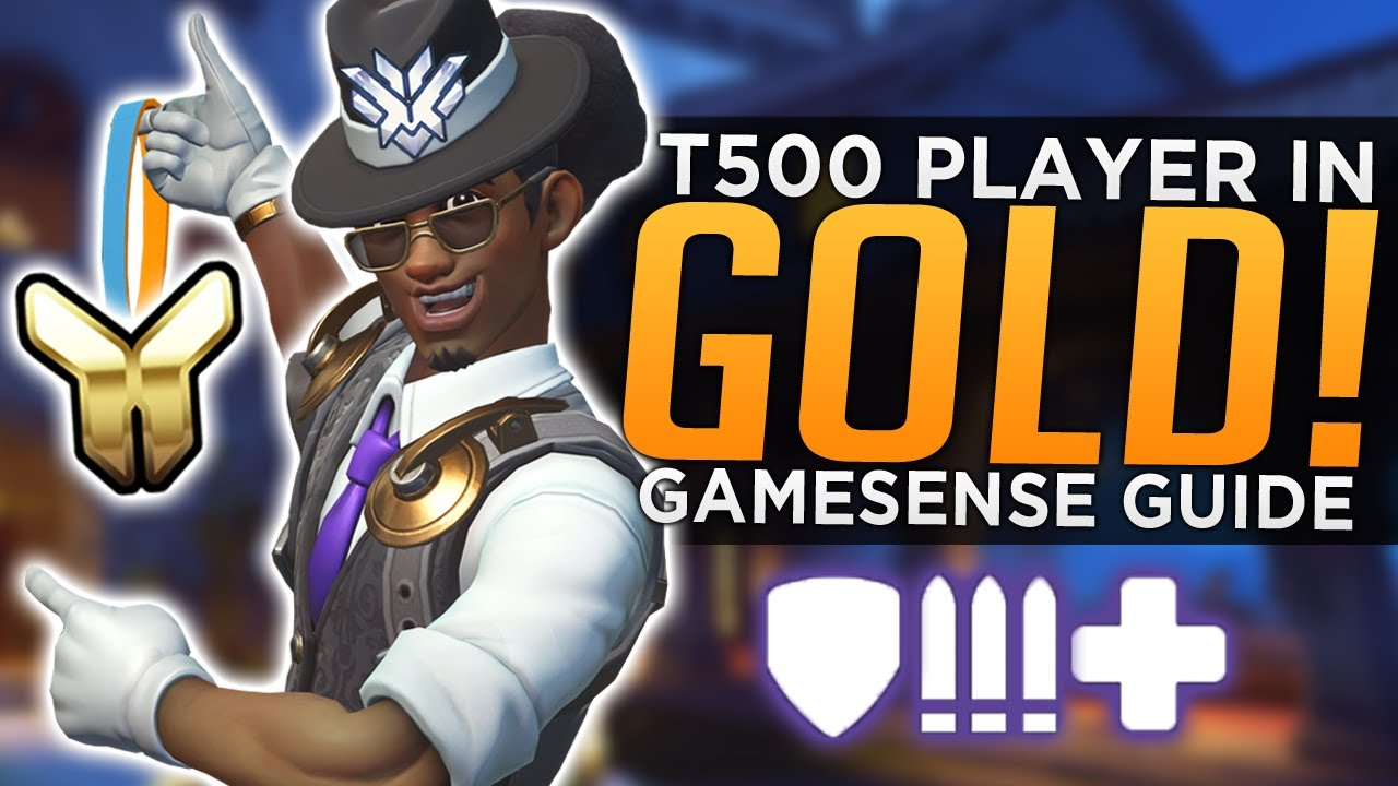 Overwatch: What I Learned as a T500 Player in Gold! - Gamesense Guide thumbnail