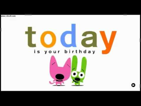 Hoops _ Yoyo for Angel - Your birthday is today-oh - YouTube.wmv