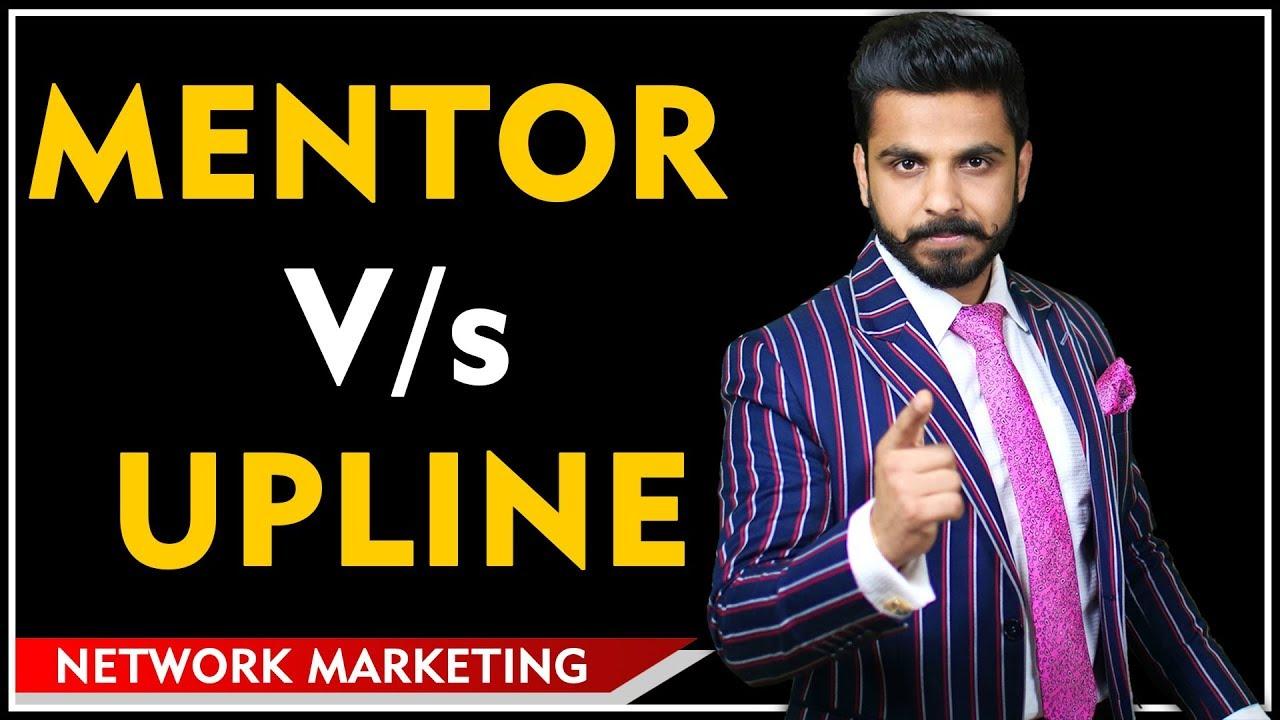 Mentor Vs Upline | Mentorship कितनी Important  है? Network Marketing  | Pushkar Raj Thakur