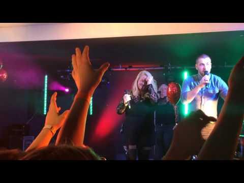 Shayne Ward live at The Blake Hall singing