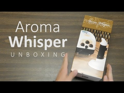 Aroma Whisper Essential Oil Diffuser — Getting Started Series