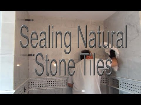 How, when  and why you should seal your Marble or stone tile.