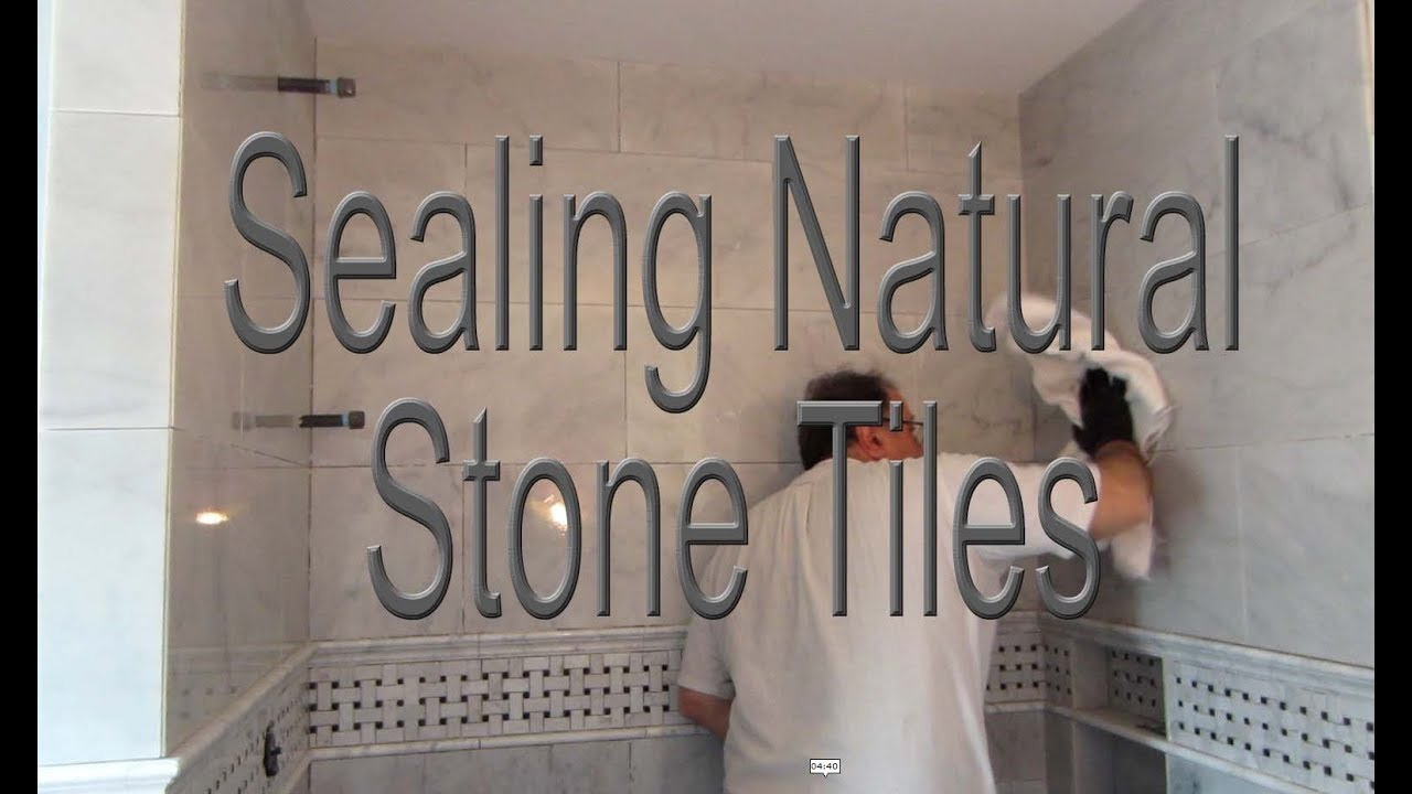 How When And Why You Should Seal Your Marble Or Stone Tile Youtube