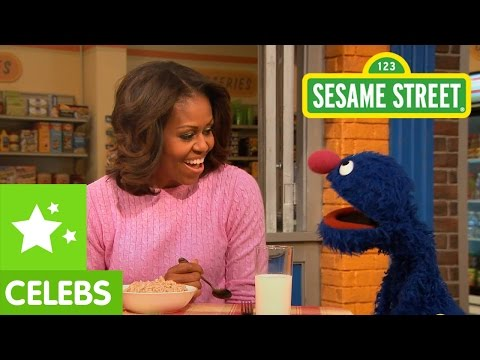 Sesame Street: Michelle Obama & the Most Important Meal