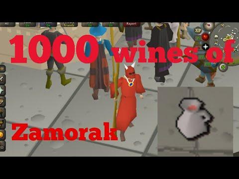 wine of zamorak - cinemapichollu