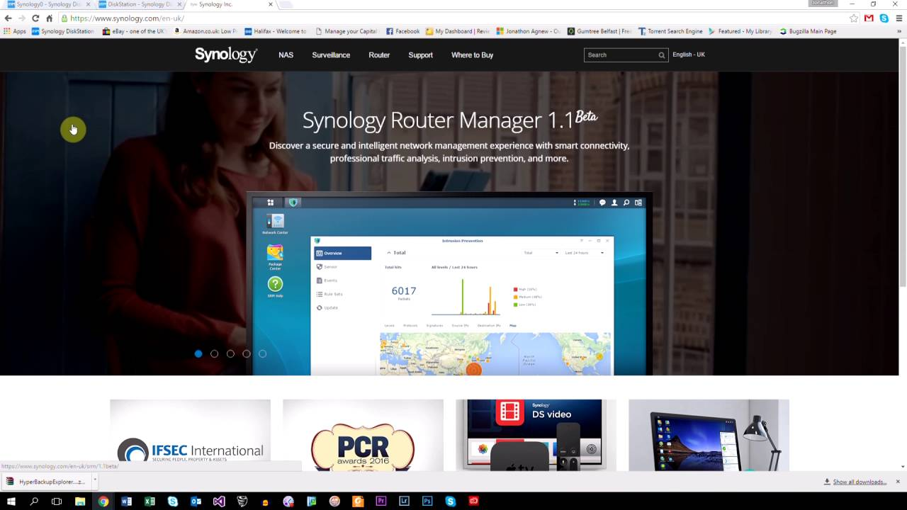 Download Synology DSM 6.0 - Complete Backup Guide (Cloud station & Hyper Backup)