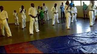 2013-01-08 Karate Kyukushin Kai Training in Soshanguve township- Pretoria
