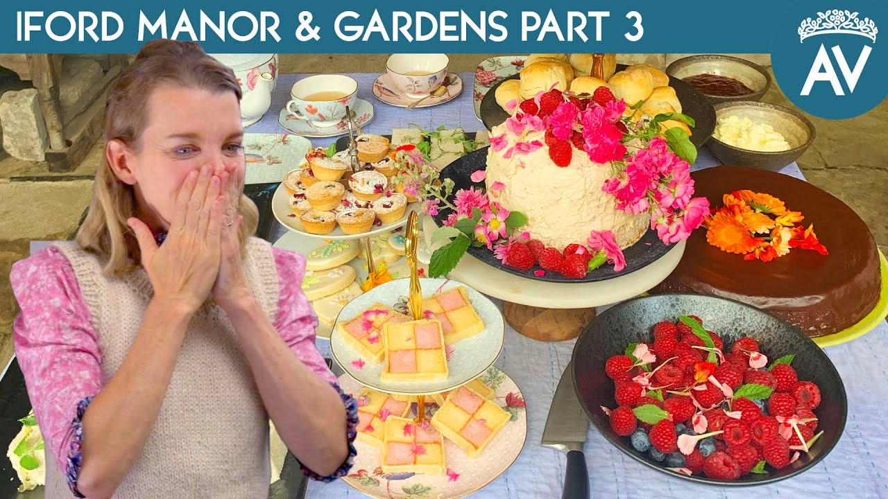 The Perfect Afternoon Tea - Iford Manor & Gardens Part 3