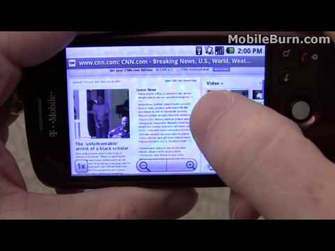 T-Mobile myTouch 3G review - part 2 of 3