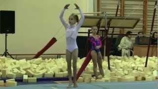 Спортивная гимнастика Вольные Есения Фролова