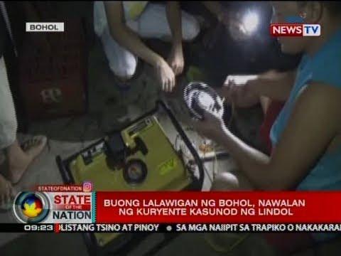 SONA: Buong lalawigan ng Bohol, nawalan ng kuryente kasunod ng lindol