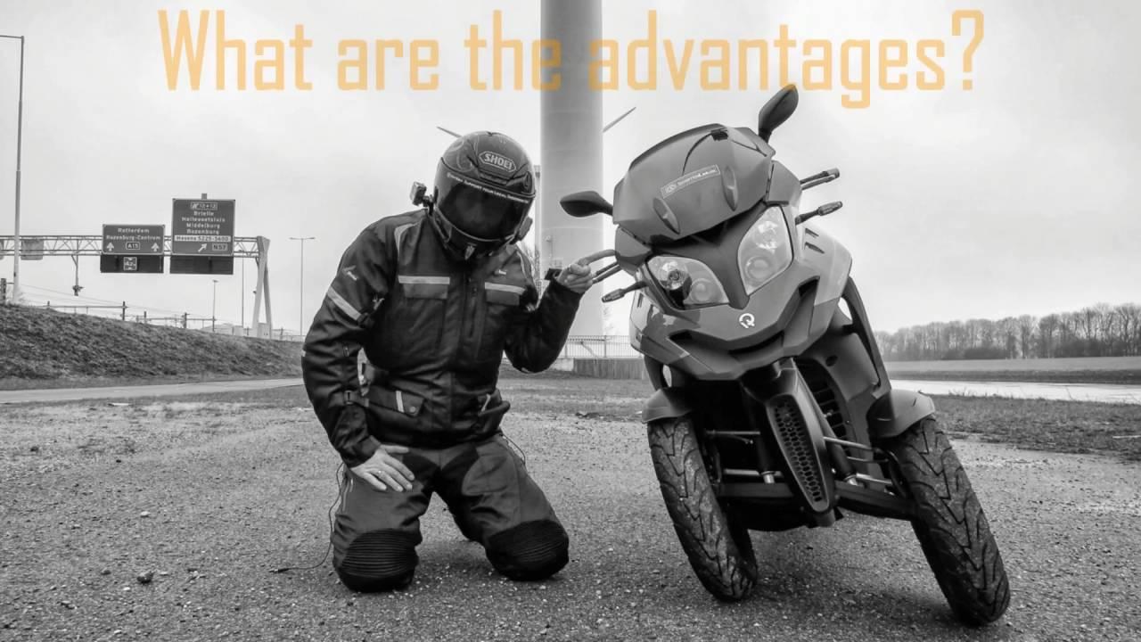 SLUK | Quadro 4 350 vs Piaggio MP3 500 test review teaser - YouTube
