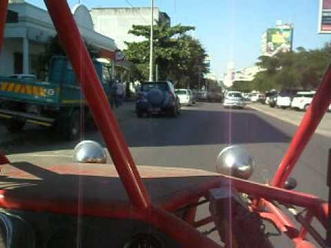 Os buggy já circulam em Maputo