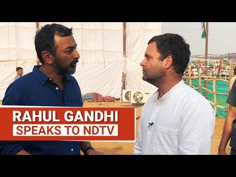 Rahul Gandhi To NDTV On One Big Congress Strength And Weakness
