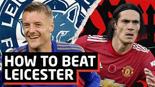 Critical Game For Title Race! Leicester City vs Manchester United   Tactical Preview