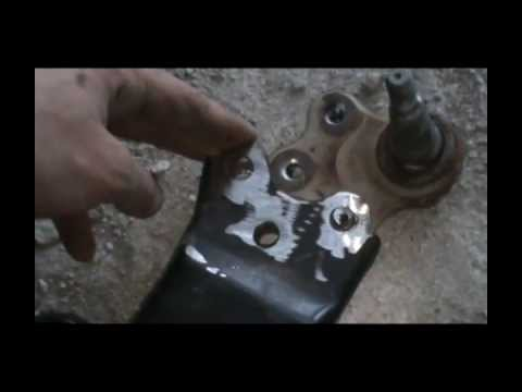 Chevy Equinox Problems >> Changing Lower Ball Joint - YouTube