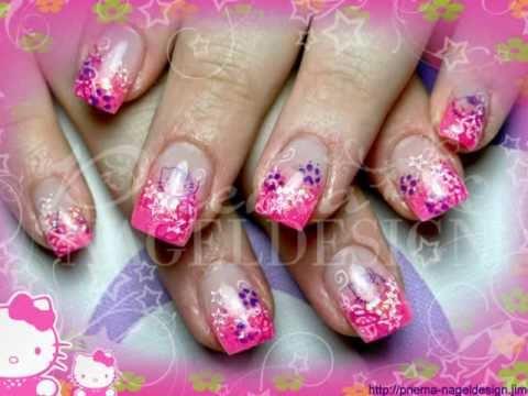 nailart beispiele by priema nageldesign nail art stamping airbrush - Nageldesign Fotos Beispiele