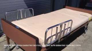 Medline MDR107004 Bariatric Bed Full Electric With Bariatric Foam Mattress