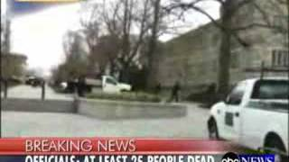 Virginia Tech Shooting - Cell Phone Video