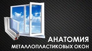 Металлопластиковый профиль  Белые и цветные профили  Анатомия металлопалстикового окна ч. 6