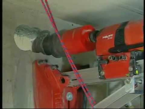 HILTI DD200 Diamond Drilling Rig - Wet. Capacity 250mm