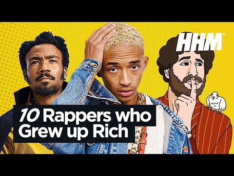 Top 10 Rappers Who Grew Up Rich