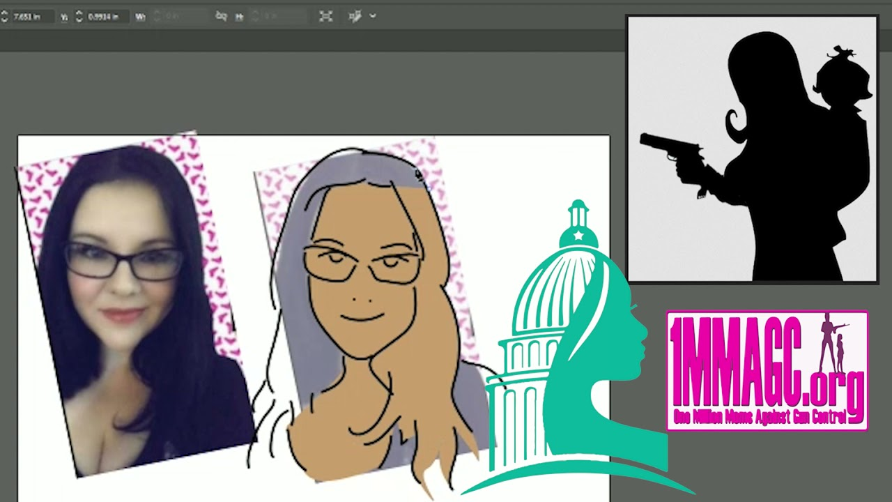 Jill Slayton McDaniel - Drawing 2A Activists #38