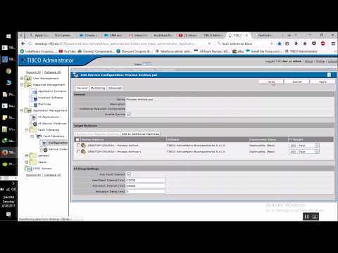 Fault Tolerance Implementaion in Tibco Administrator with Subtitles
