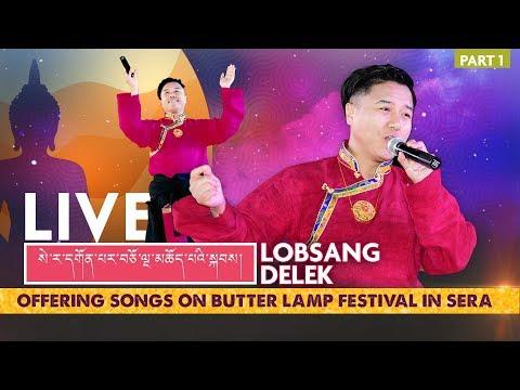 Lobsang Delek I Grand Live Show I Sera India 2019 I Part 1