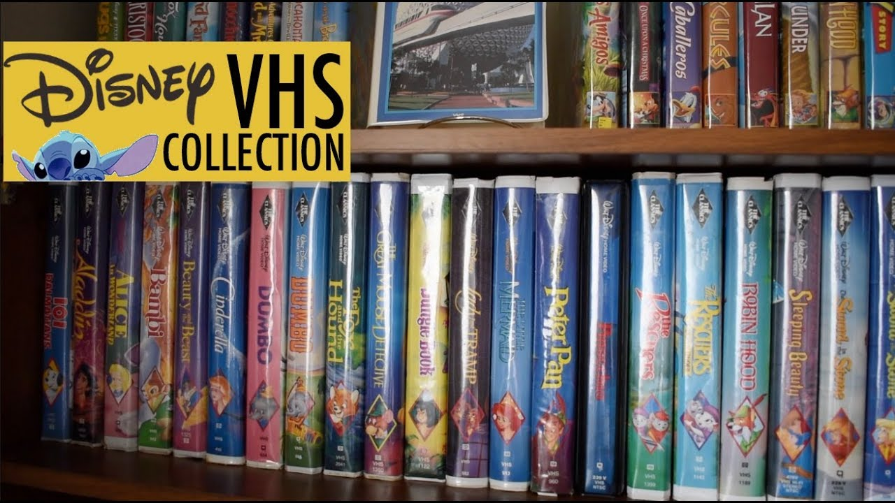 Disney Vhs Collection Disney Video Collection Must Watch Youtube
