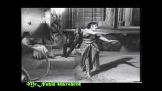 Qaid Main Hai Bulbul=Lata ji__Film= Bedard Zamana Kya Jane(1959)