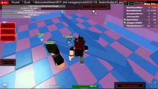 Let's Play Roblox: Episode 2: Sword Fighting Tournament. Partie 1/2