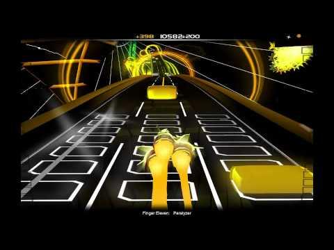 Paralyzer  Finger Eleven Audiosurf Ninja Mono