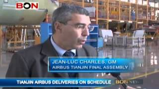 Tianjin Airbus Deliveries On Schedule