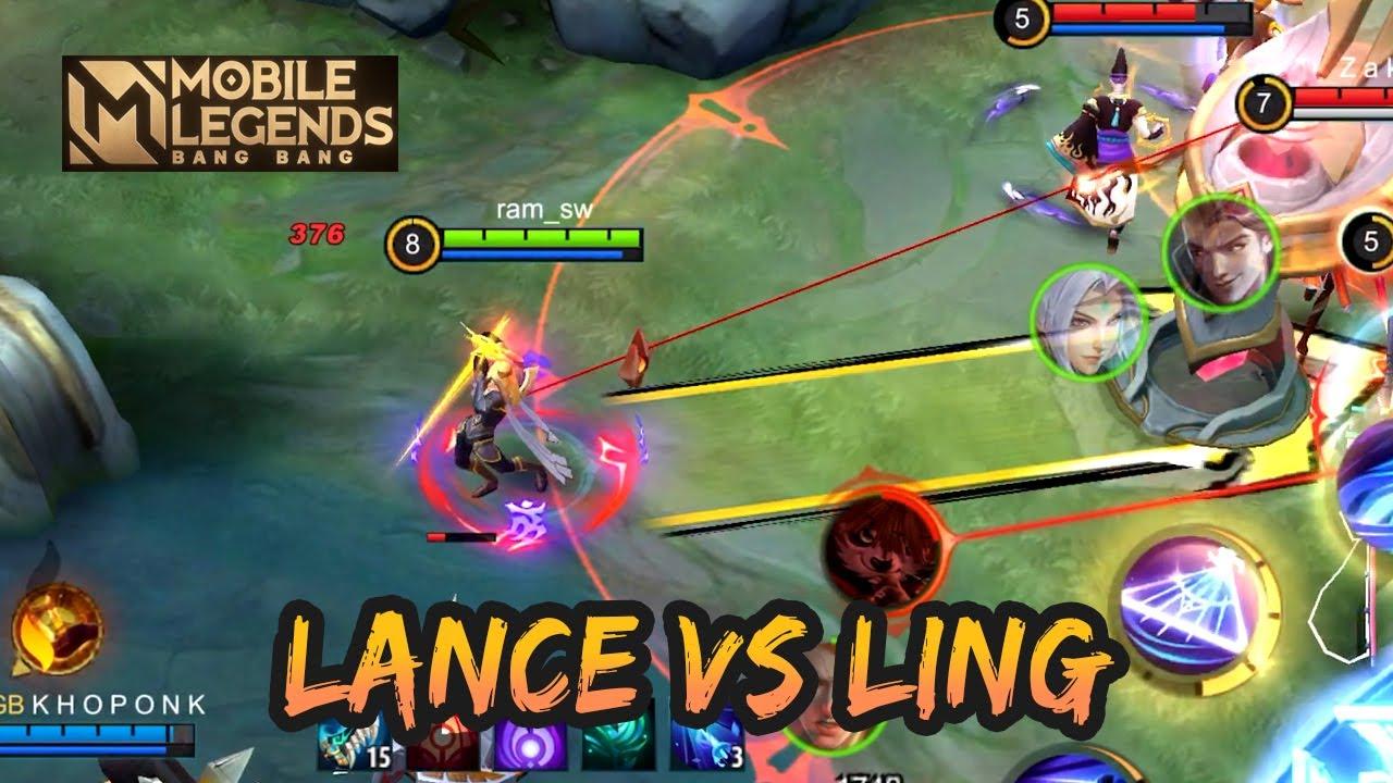 MANIAC 🔥🔥🔥 LANCELOT VS HYPER LING | GAMEPLAY #113 | MOBILE LEGENDS BANG BANG