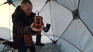 Зимняя рыбалка 2020 с эхолотом практик 6 м