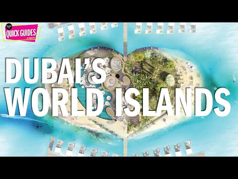 Dubai's incredible The World islands (2018)